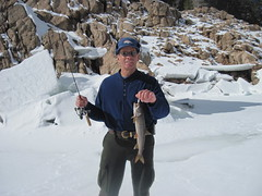 Me With an Average Size Gross Lake Trout (fethers1) Tags: icefishing laketrout grossreservoir