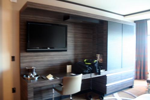 M Resort Room - Very Blurry Desk Area