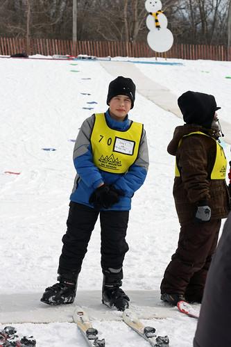 Joey first ski