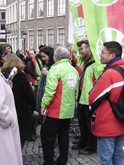 Femke Halsema in Utrecht (harry_nl) Tags: netherlands utrecht elections campaign campagne femke 2010 verkiezingen halsema gemeenteraad groenlinks towncouncil