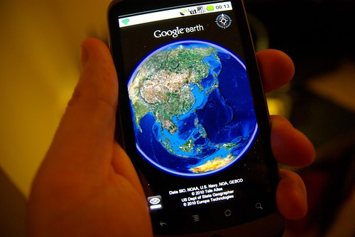 Google Earth on Nexus One
