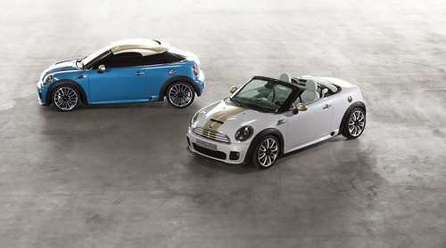 MINI Coupé and Roadster Concept