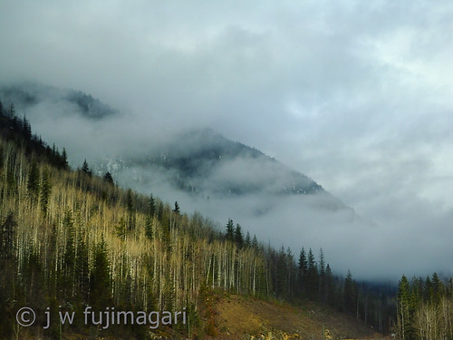 Sun Peeks Out Near Mount Revelstoke