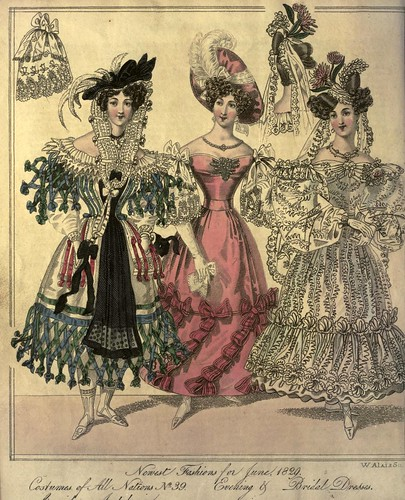 009-The World of fashion and continental feuilletons 1829