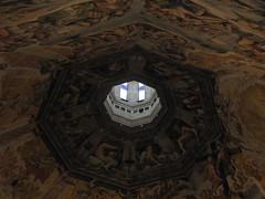 Santa Maria del Fiore (Leonard Davich) Tags: florence cupola dome firenze brunelleschi vasari federicozuccari giudiziouniversale universaljudgement