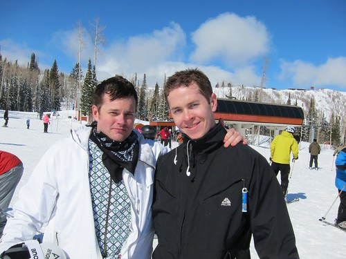 Jason and Zack at The Canyons Resort