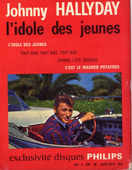 disco revue oct 1962 (totordenamur) Tags: music car vintage magazine french disco mashed potatoes philips des retro singer johnny covers 1960s revue jeunes hallyday lidole