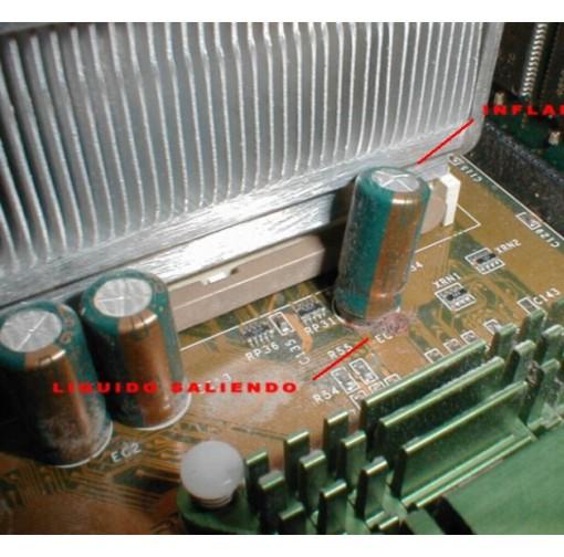 Tutorial para cambiar capacitores de Motherboards