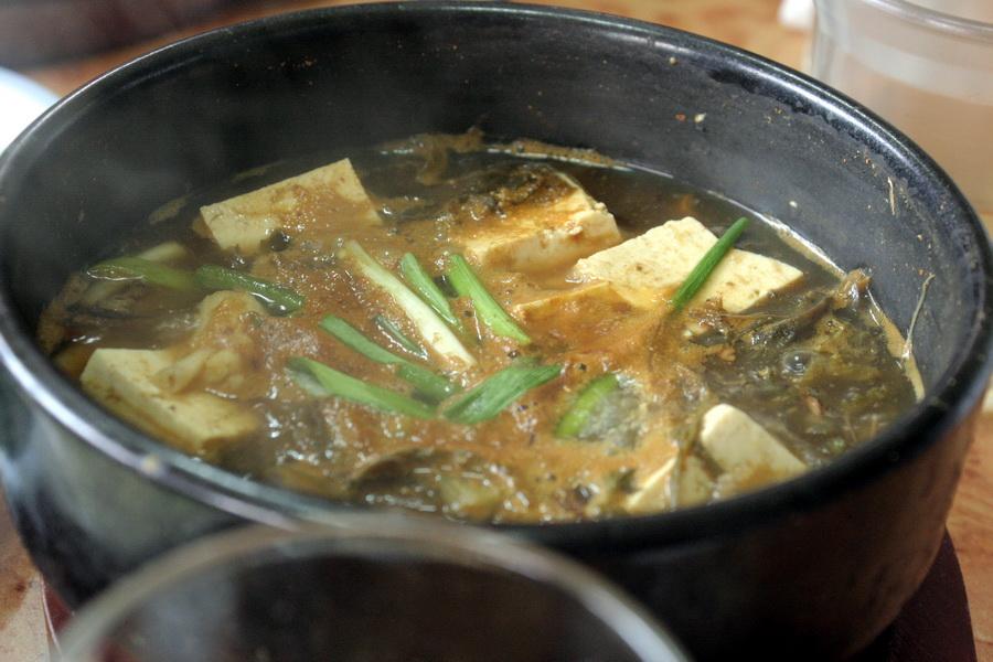Restaurant Shinwonsa Temple(dwenjang)