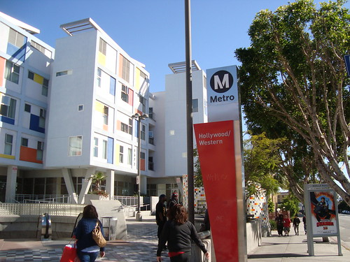 Hollywood-Western Metro Stop
