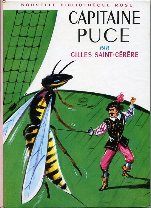 Capitaine Puce, by Gilles SAINT-CÉRÈRE