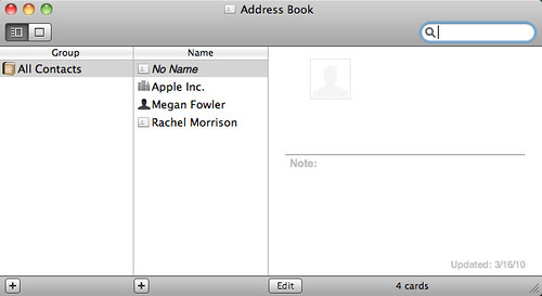 Updating your Business Card Contacts Using ScanSnap and Cardiris Software for Mac_7