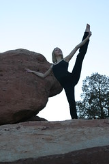 Christina Chitwood at Garden of the Gods, Colorado Springs, Colorado.