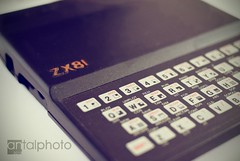 Back to the 80's :) (noscoo) Tags: sinclair zx81 sinclairzx81 homecomputer