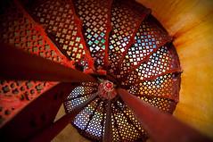 The Wonder That Awaits (michaeljosh) Tags: lighthouse spiralstaircase symbolism rainbowcolors project365 capebojeadorlighthouse tamron1750mmf28 thetimehascome nikond90 burgosilocosnorte upwardpov michaeljosh ilocosroadtrip thewonderthatawaits checkoutmyotherphotos