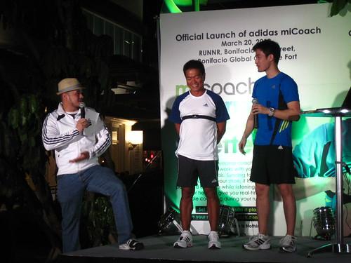 adidas miCoach Launch: with Jojo Macalintal