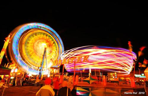 Spinning Ferris Wheel - Lansdowne Carnival N1667e