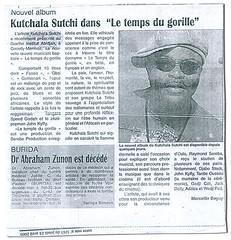 Ivorian newspaper 'Notre Voie', 23.04.2009