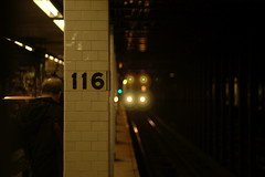 Downtown 1 approaching 116th