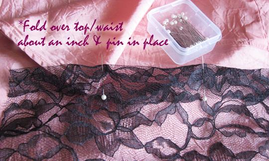 long sheer lace skirt -diy-2