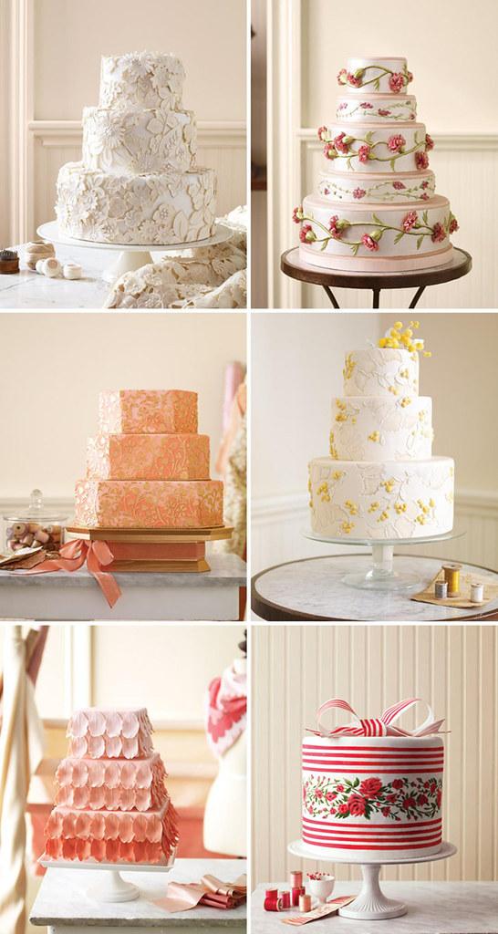 wedding cakes martha stewart 1