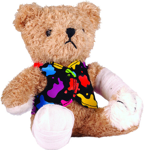BBD10 plush bear $7