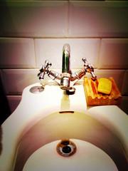 Bathroom (superbitxo) Tags: bathroom lomo bidet baño iphone bany bidé