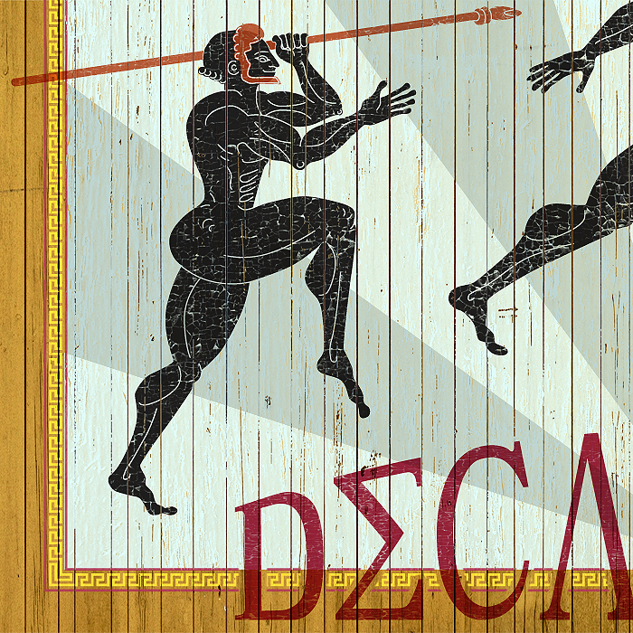 Decathlon poster detail