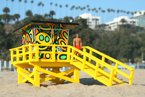 Portraits of Hope Lifeguard Tower Project