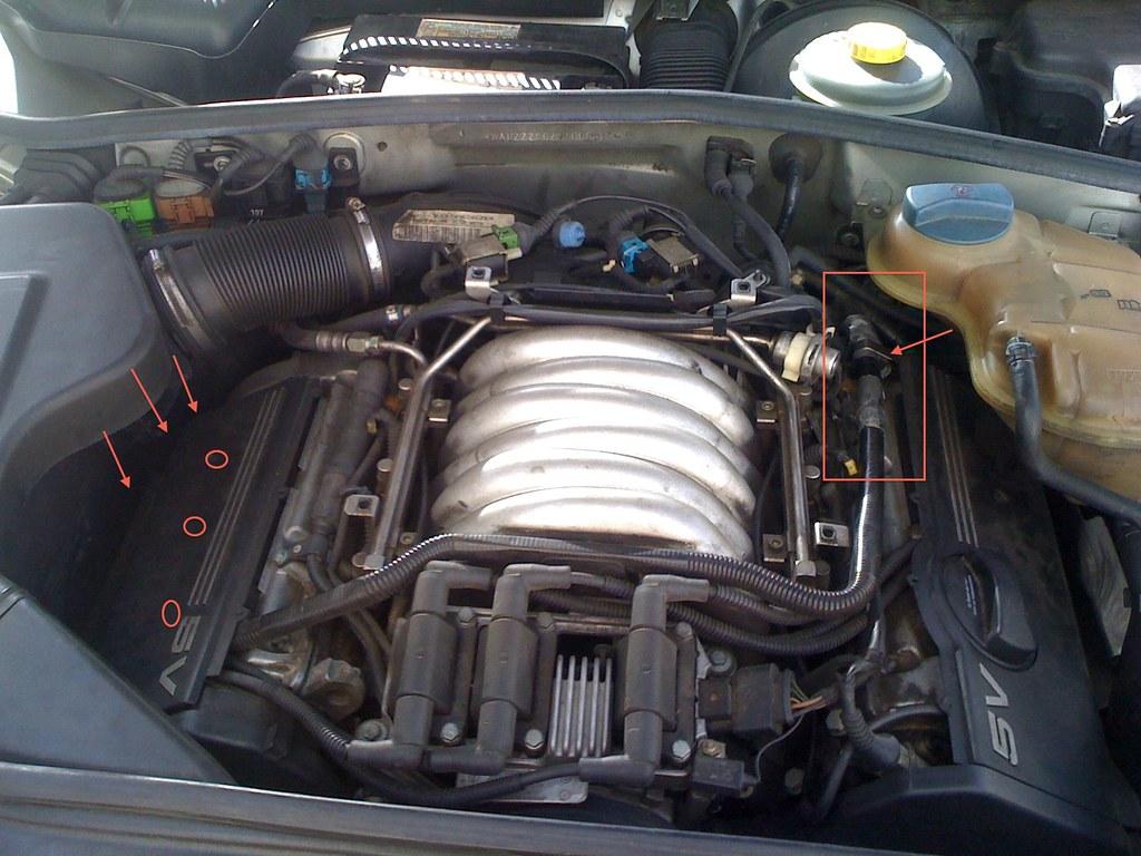 1998 Audi A4 28 30v Smoke From Engine