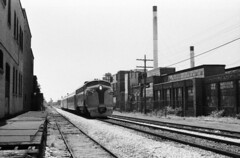Scan11559cc (citatus) Tags: railroad bw toronto canada film train minolta railway 102 1970 1980 srt ontarionorthlandrailway