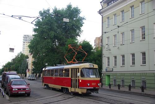 Moscow tram Tatra T3SU 1897 _20090613_056 ©  trolleway