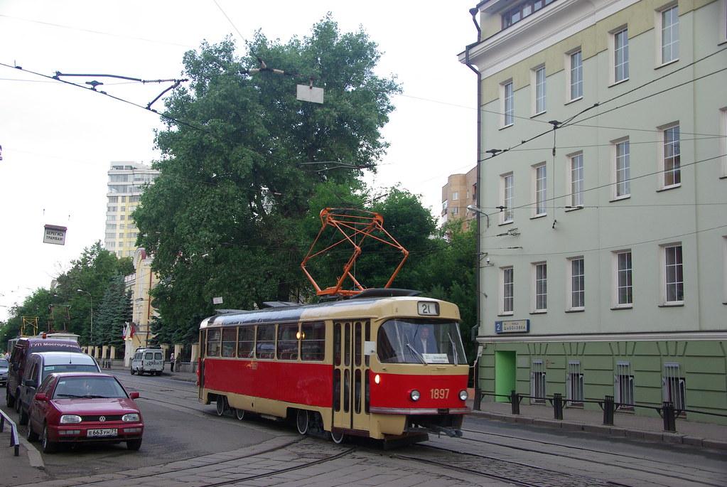 фото: Moscow tram Tatra T3SU 1897 _20090613_056