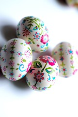painted eggs (rebeccalefeuvre) Tags: easter craft paintedeggs