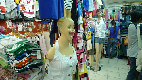 saigon square mannequin in shop