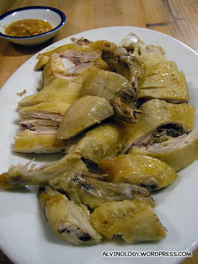 Delicious kampong chicken