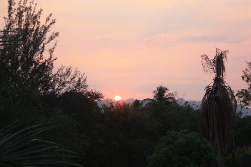 Sunset over Pong Phen