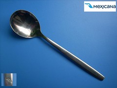 (MEXICANA 7) (diatr) Tags: mexicana inflight aviation spoon collection airline meal lffel cuiller teaspoon lepel airlinespoon onbord