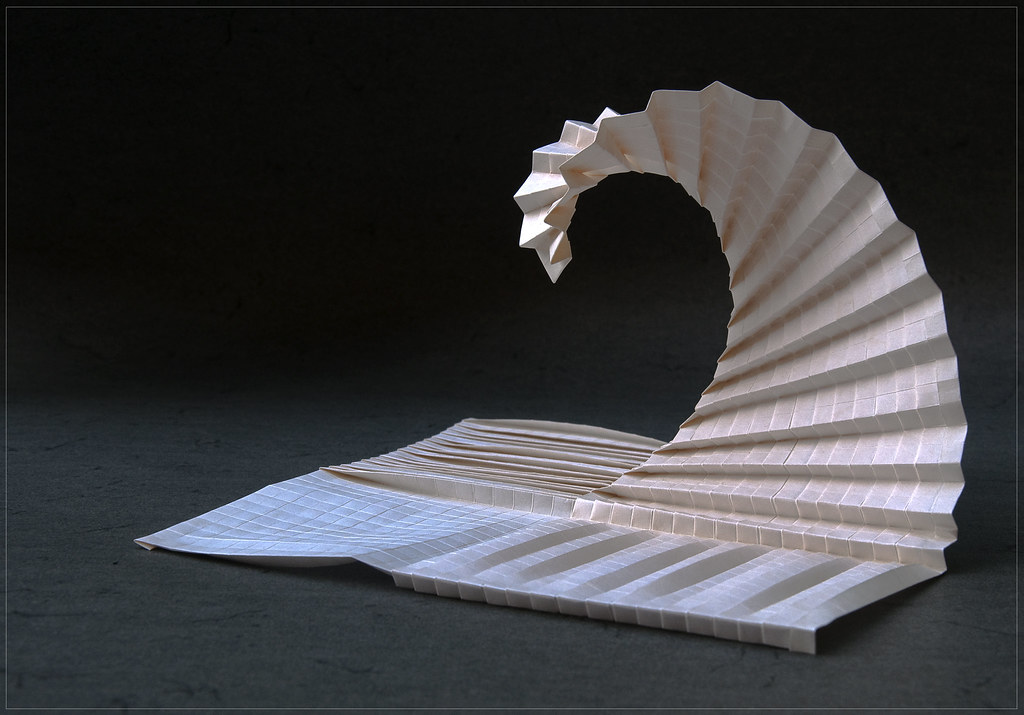 Wave Inspired By Goran Konjevod Garibi Ilan Tags Origami Tessellation