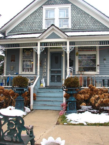 Antique Store in a Blue House