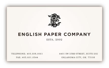 english paper company