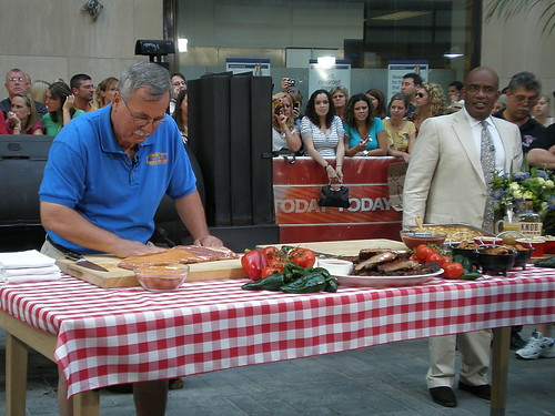 BBQ Competition on Today  Show with Al Roker