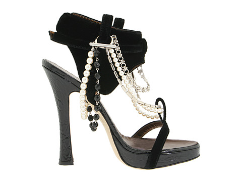 DIY jeweled sandals Dsquared 3