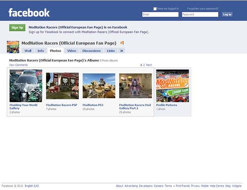 ModNation Racers Facebook - Photos