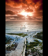 Sunny Cottesloe (KC Tan Photography) Tags: sunset sea cloud beach sand surf indianocean filter sail cottesloe tobacco cottesloebeach cokin gradual afsdxzoomnikkor1755mmf28gifed nikond300s