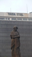 Calcutta - Indira Gandhi and Tata Steel