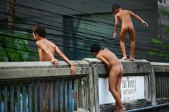 naked half black guys