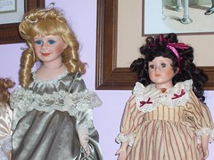 Haunted Dolls (moonandstarlite) Tags: blue ireland red irish baby green silver real gold scotland doll dolls dragon witch vampire ghost scottish spell haunted collection fairy faery haunting enchanted possessed fae djinn entity