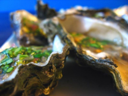 Oysters from El Delfin