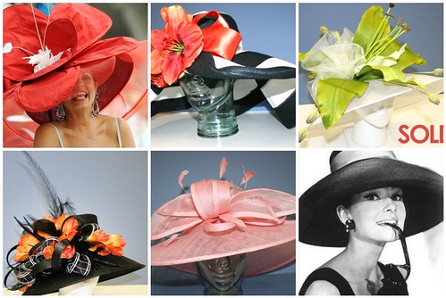 Kentucky Derby Hat Collage